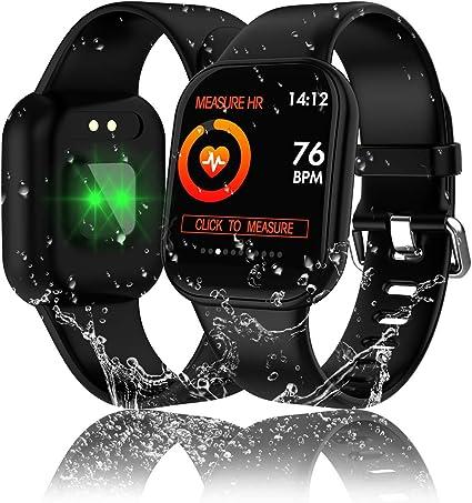 Tipmant Reloj Inteligente Mujer Hombre Smartwatch Pulsera de ...