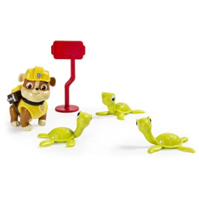 Paw Patrol Rubble and Sea Turtles Rescue Set: Toys & Games
