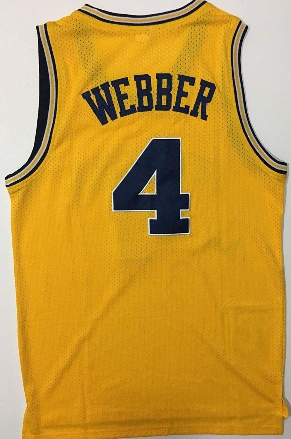 newest daf84 cbb64 Chris Webber Autographed Signed Michigan Wolverines ...