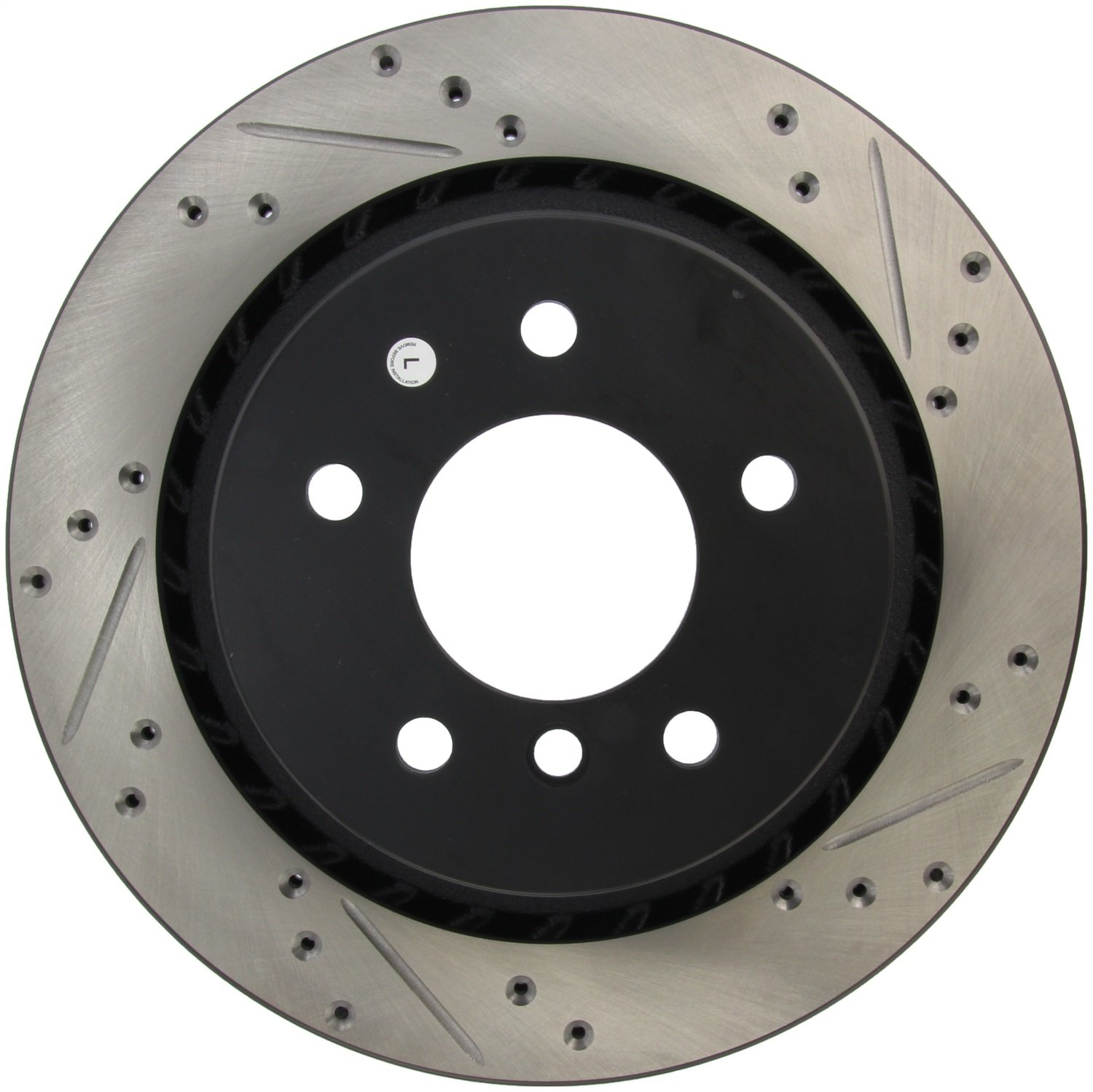 StopTech 127.34036L Sport Drilled//Slotted Brake Rotor 1 Pack Rear Left