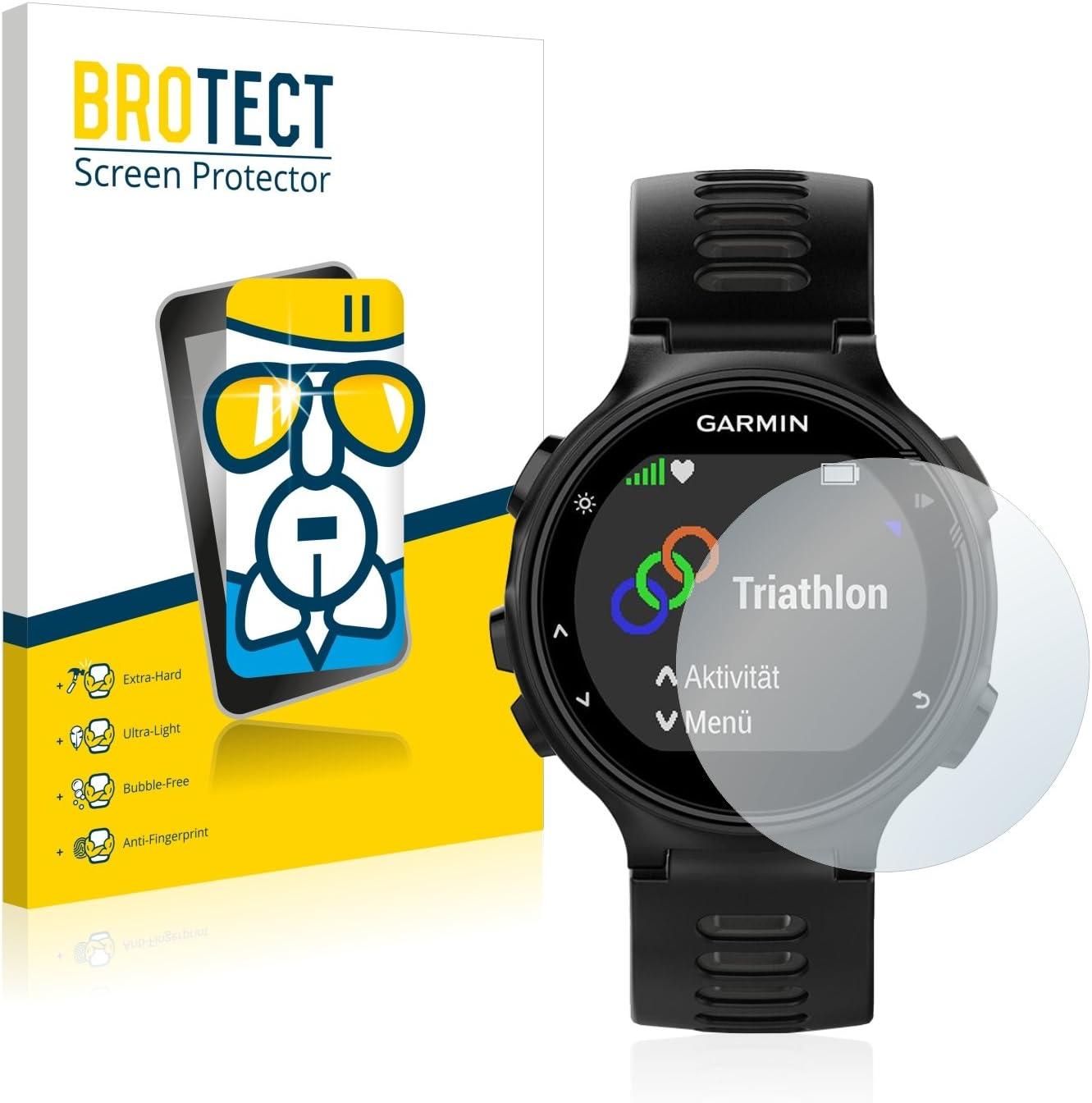 BROTECT Protector Pantalla Cristal Compatible con Garmin Forerunner 735XT Protector Pantalla Vidrio Dureza 9H AirGlass: Amazon.es: Electrónica