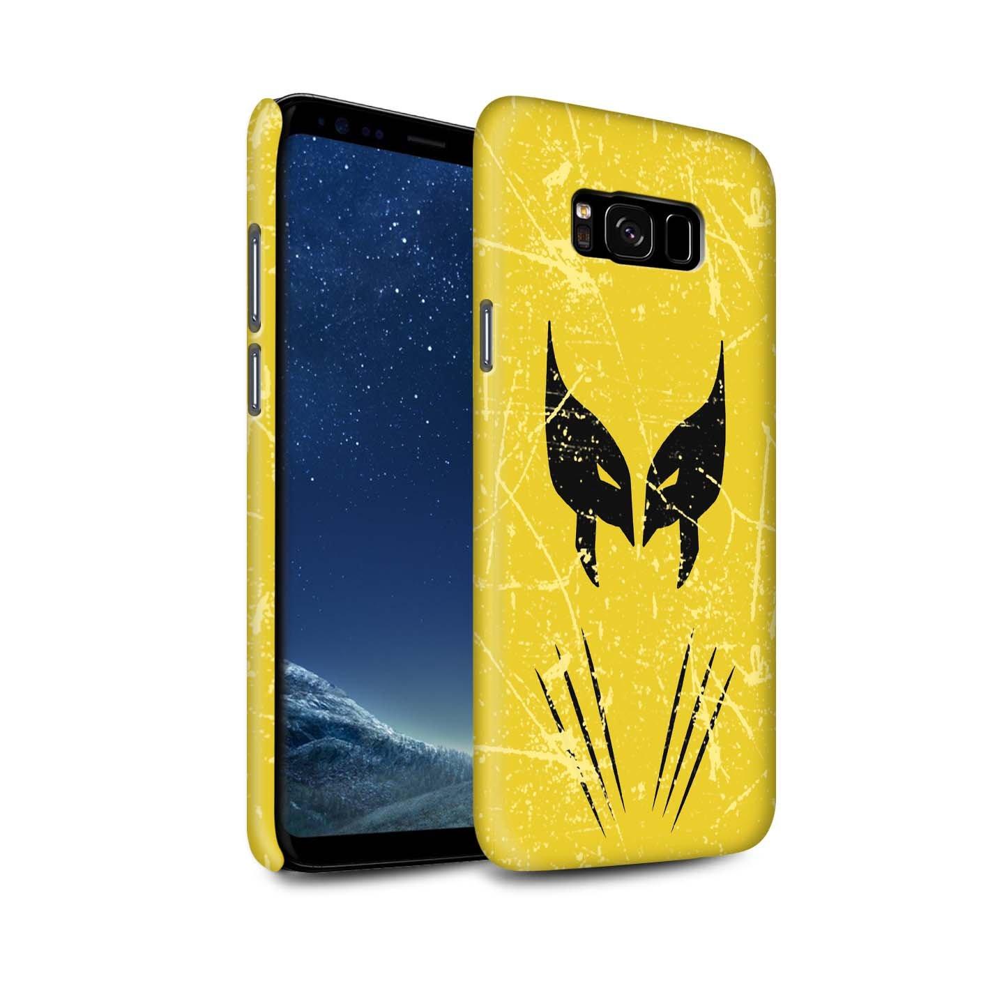 Stuff4® Matte Snap-On Hülle/Case für Samsung Galaxy S9 Plus/G965/Wolverine Inspiriert Muster/Antiheld Comic-Kunst Kollektion
