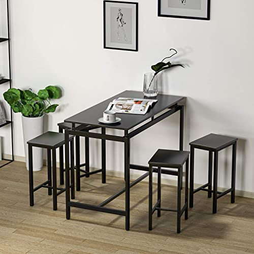 HCWORLD Kitchen Table and Chair