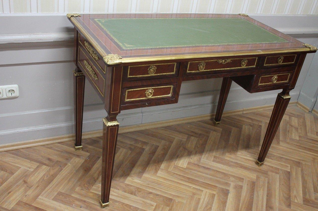 Barock Schreibtisch Antik Stil Bureau Plat Mosr0315 Günstig Online
