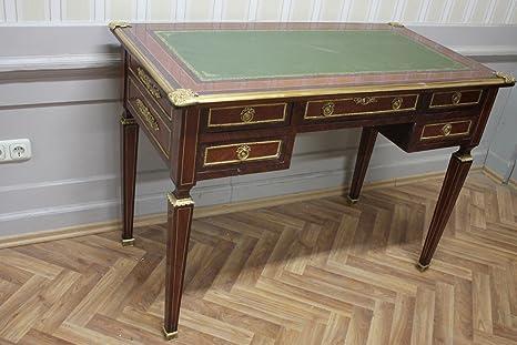 Barocco scrivania stile antico Bureau Plat mosr0315: Amazon.it: Casa ...