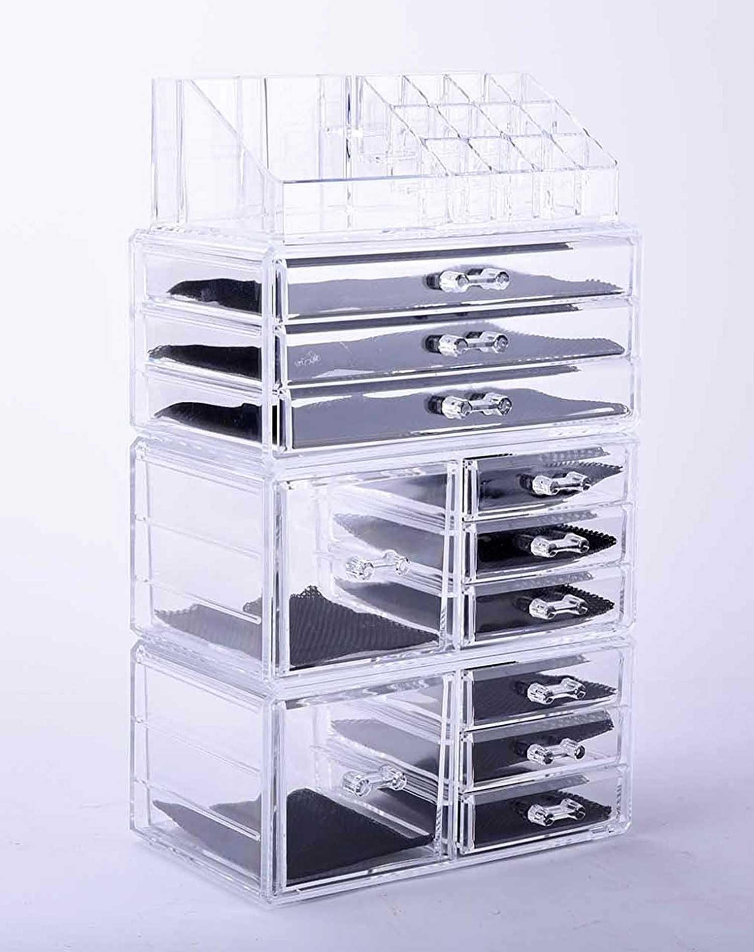 Vencer Jewelry and Cosmetic Storage Makeup Organizer Set,4 Piece,VMO-021