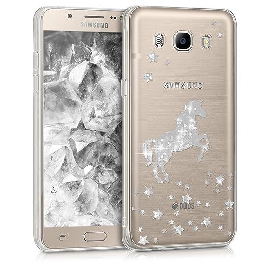 3 opinioni per kwmobile Cover per Samsung Galaxy J5 (2016) DUOS- Custodia in silicone TPU- Back