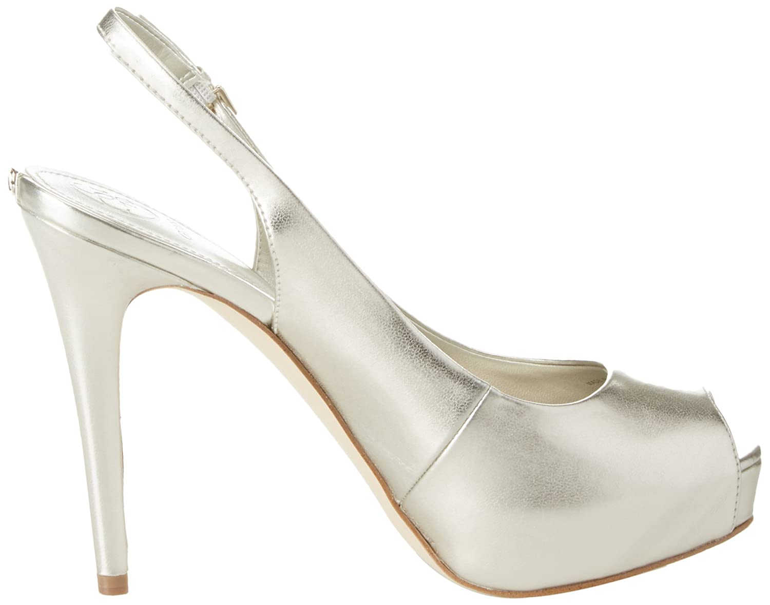 Guess Gold Damen Footwear Dress Sling Back Plateaupumps, Platino Gold Guess (Gold Plati) 1870a6