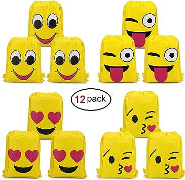 Amazon.com: Konsait Emoji Bolsas para suministros de fiesta ...