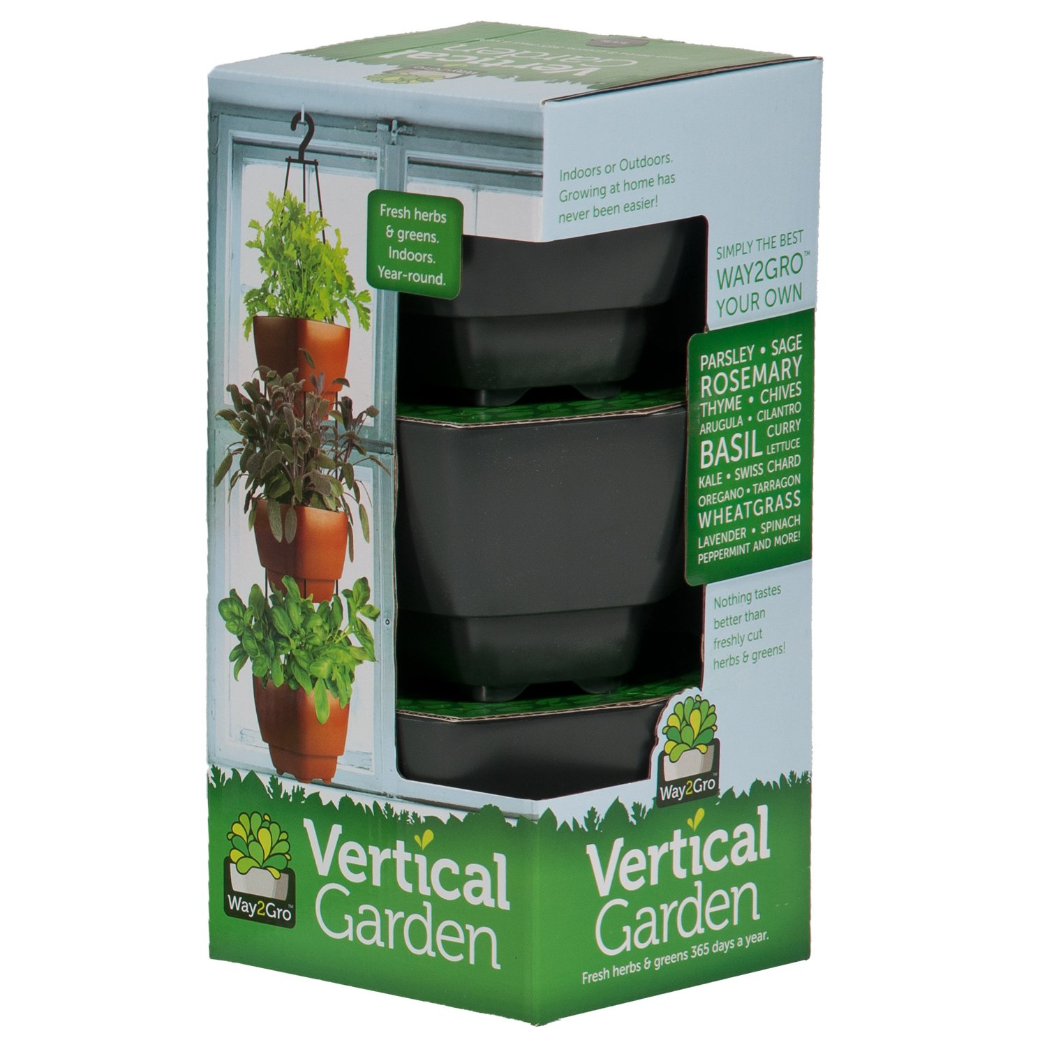 Amazon Radius Garden Way2Gro Herb and Lettuce Hanging