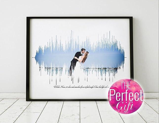 Wedding Song Gift Wedding Song Canvas Wedding Song Lyric Art 16x20 Inch Canvas