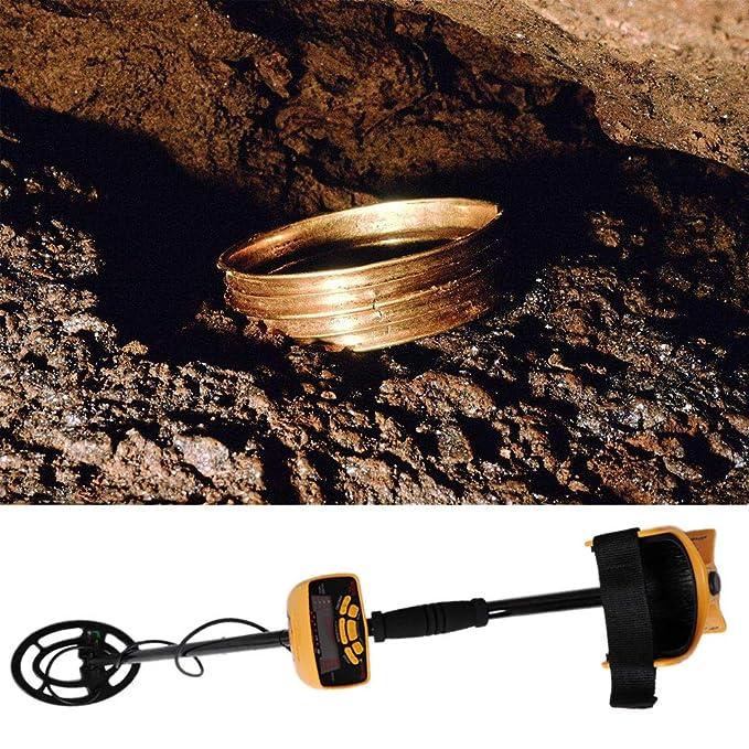 fogun Detector de metales multifunción metal Such dispositivo Bobina de búsqueda de sensibilidad ajustable y altura detectores metal para schatzsuche: ...