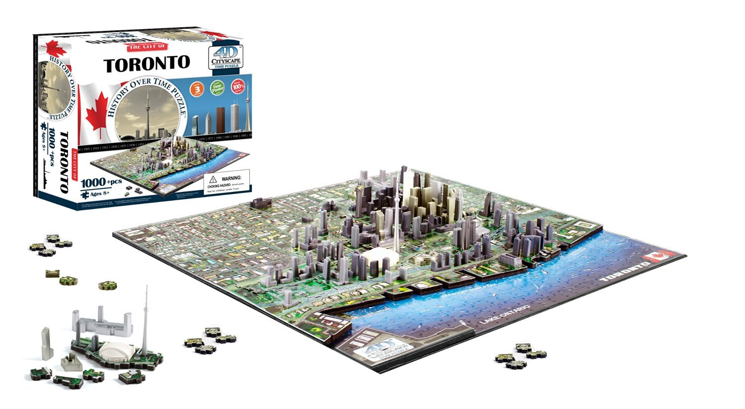 4D Cityscape Toronto, Canada Puzzle [並行輸入品]   B01LY4D2A8, ナカツエムラ d9ac8d94