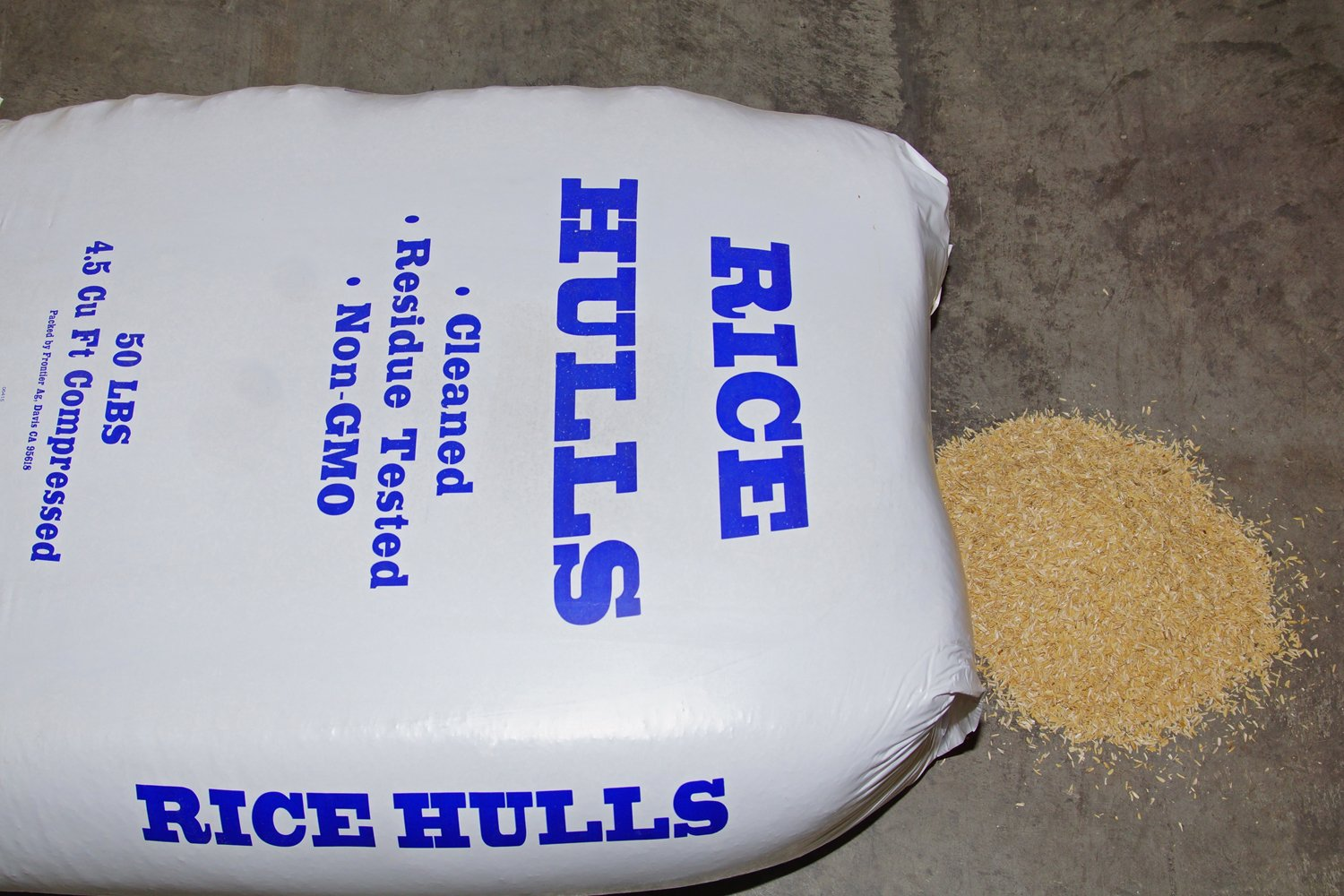 Nature's Seed S-RICE-25-LB Rice Hulls by Nature's Seed