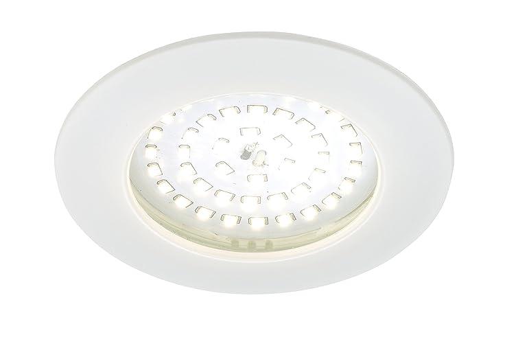 Briloner Leuchten 7233 016 LED Einbauleuchte, Dimmbar, Einbaustrahler, LED  Strahler, Spots