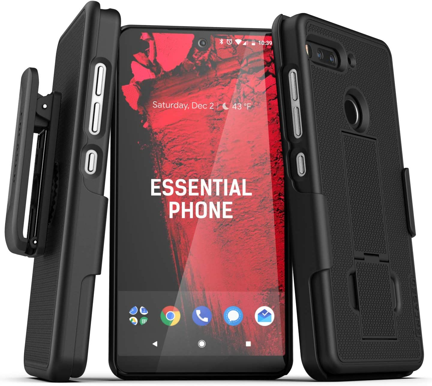 Encased Essential Phone PH-1 - Funda con Clip para cinturón (2019 ...