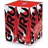 GURU 天然能量饮料 8.4 Ounce (Pack of 4)
