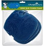 All Pond Solutions 1000EF Aquarium External Fish Tank Filter Floss Foams Pads Media, Blue