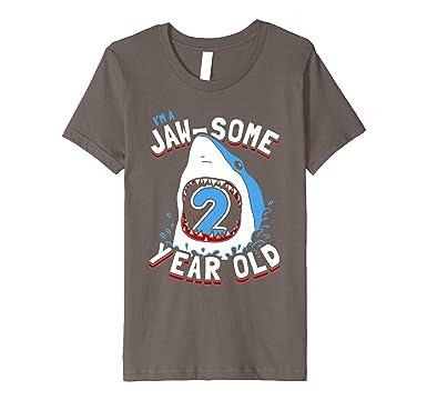 Kids 2nd Birthday Shark T Shirt