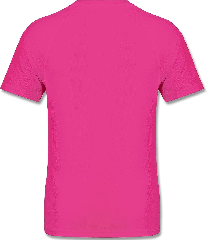 Shirtracer Herren Laufshirt Fitness /& Workout L/ächle du hast daf/ür bezahlt