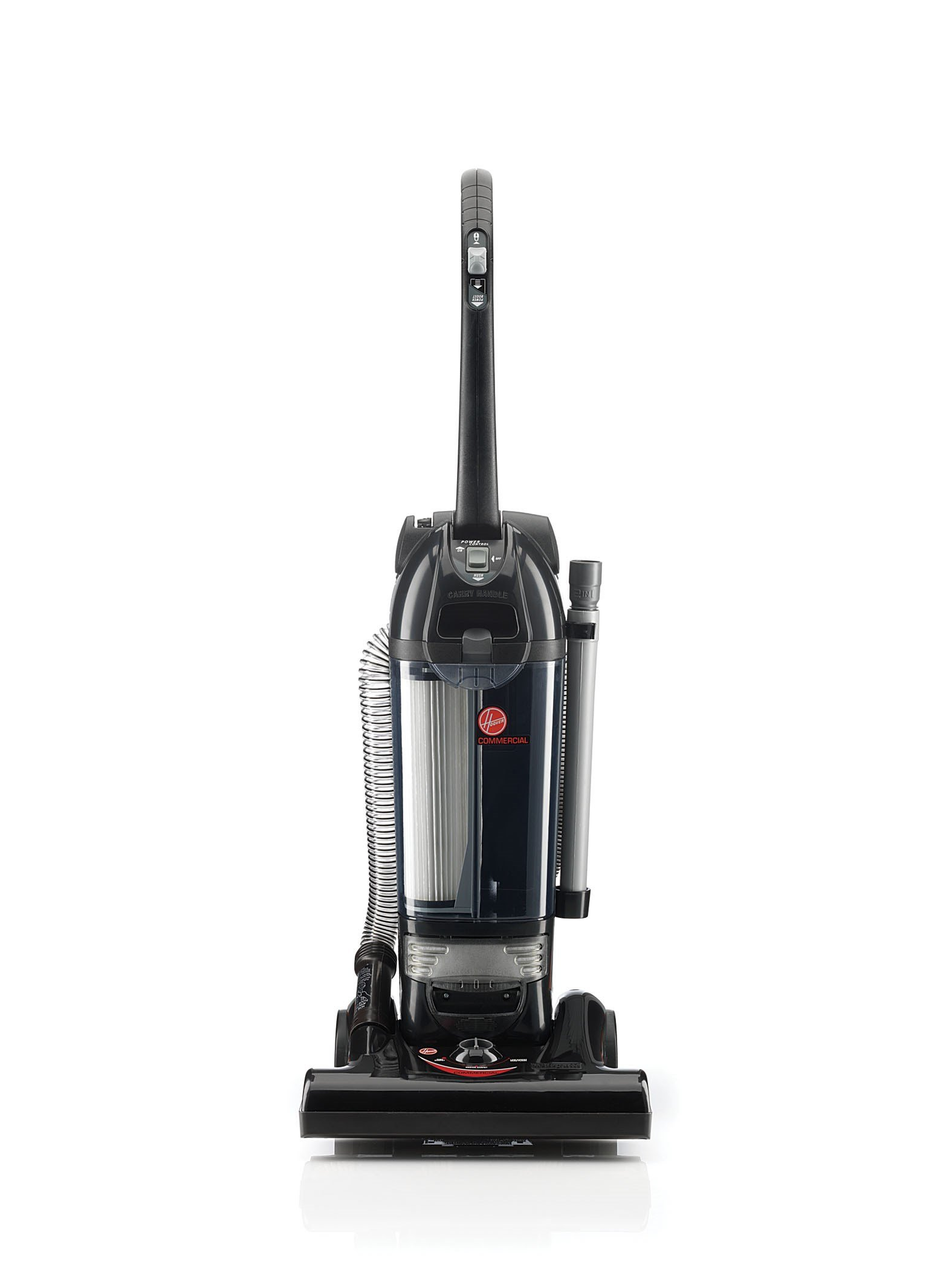 Hoover Commercial C1660-900 Hush Bagless Upright Vacuum Cleaner by Hoover