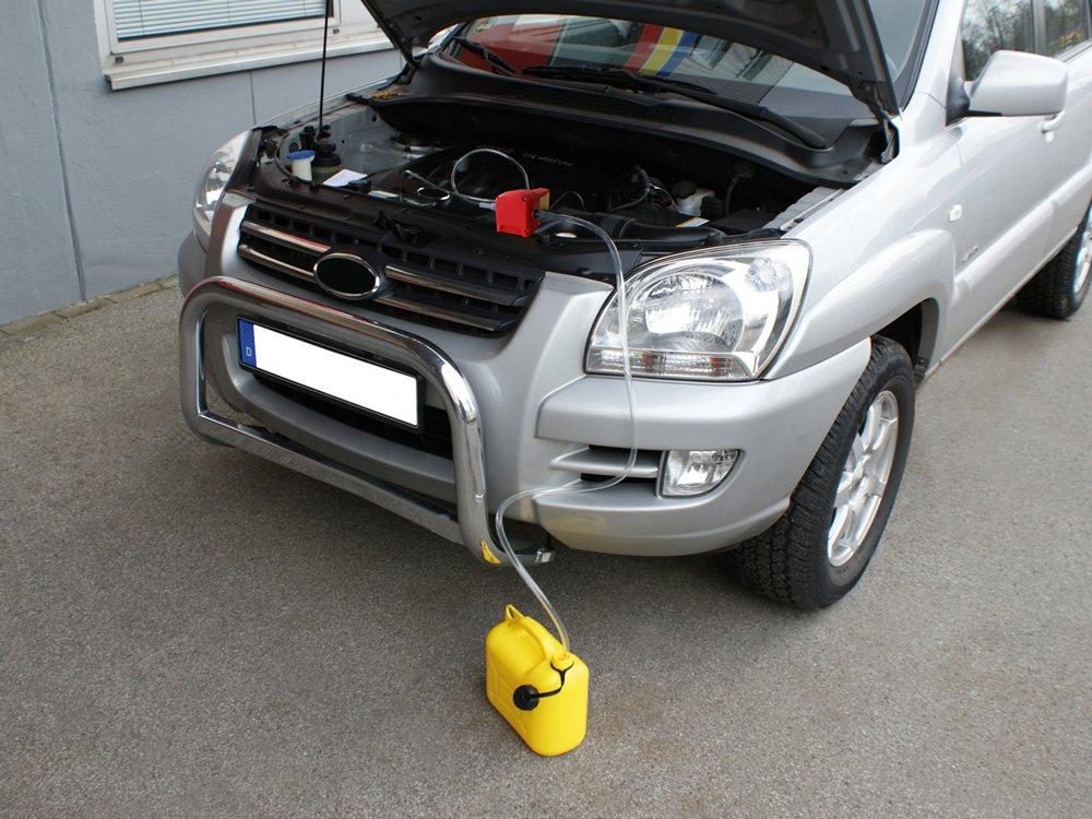 12V Eufab 21014 Pompa elettrica per aspirazione olio motore