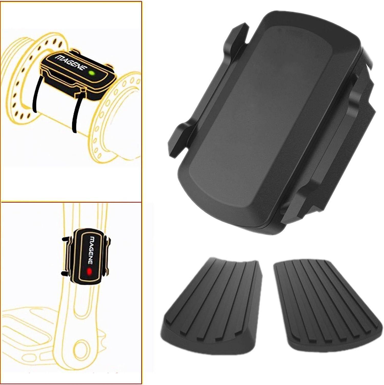 Wireless BIke ANT  Bluetooth Speed Cadence Sensor For Garmin Bryton Bike GPS