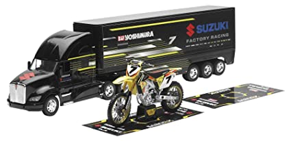 Team Ray Trucks >> Amazon Com New Ray Toys Includes Truck Yosh Suz Team Gift