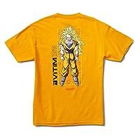 Primitive x DBZ 3- Goku Glow T-Shirt (Gold)