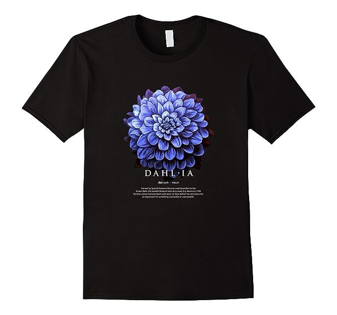 Amazoncom Flower Art Dahlia Floral Painting Definition TShirt - Painting definition