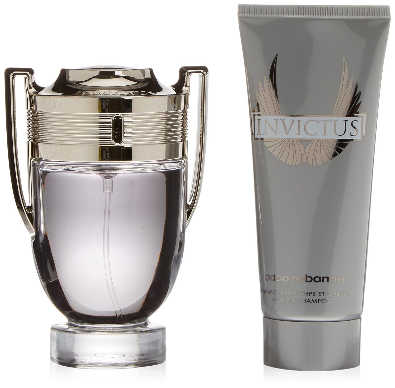 Paco Rabanne Invictus Set homme/men, Eau de Toilette, Vaporisateur/Spray 100 ml, Shower Gel 100 ml, 1er Pack (1 x 200 ml) QJ804017