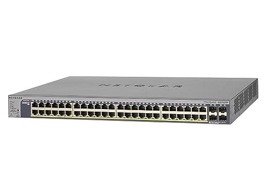 68 opinioni per Netgear GS752TP-100EUS ProSafe Switch Smart Pro Gigabit PoE, 48 Porte PoE, 8 PoE