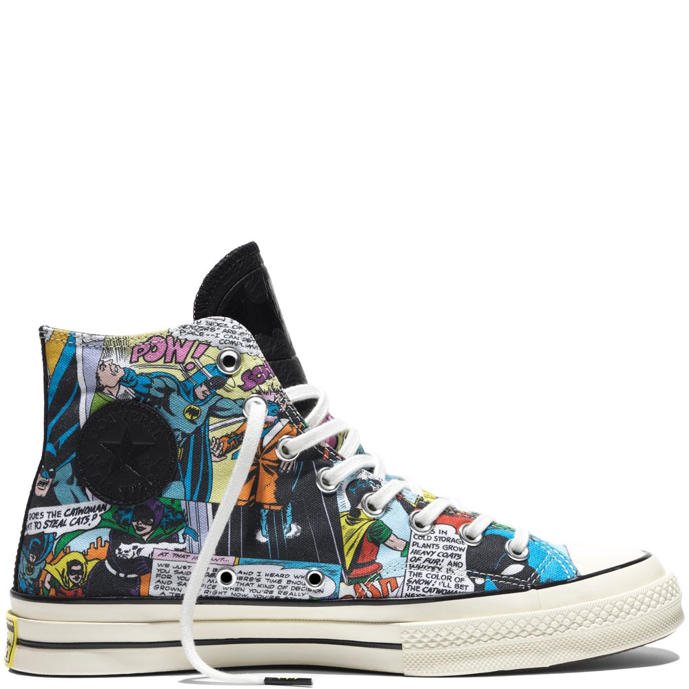 b8a37c9a667 Converse Chuck Taylor 1970 s DC COMICS Batman High Top (Men 10.5 Women  12.5)  Amazon.ca  Shoes   Handbags