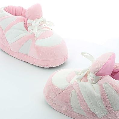 Sleeperz - Zapatillas de casa Originales y Divertidas de Mujer - White Touch -