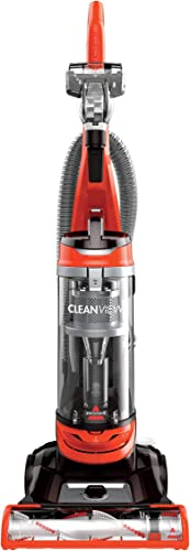 BISSELL Cleanview Bagless Vacuum Cleaner, 2486, Orange Renewed