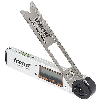 Digital Angle Finder >> Trend Daf 8 Digital Angle Finder 8in Silver