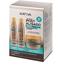 Kativa, Champú y acondicionador - 3 de 250 ml. (Total 750 ml.
