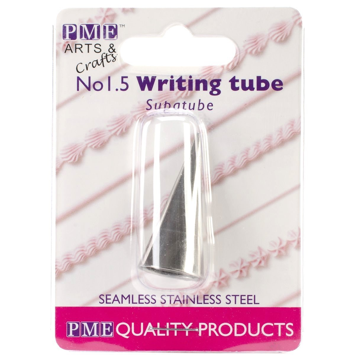 Writer No.1.5 ST1.5 PME Seamless Stainless Steel Supatube