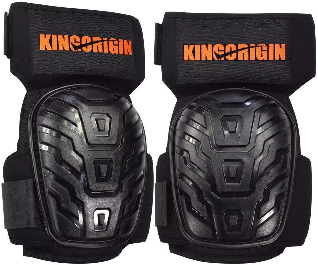 Professional Knee Pads for Work, Construction Gel Knee Pads Tools by KingOrigin,With Heavy Duty Foam Padding And Anti-Slip Straps For Indoor and Ourdoor Use