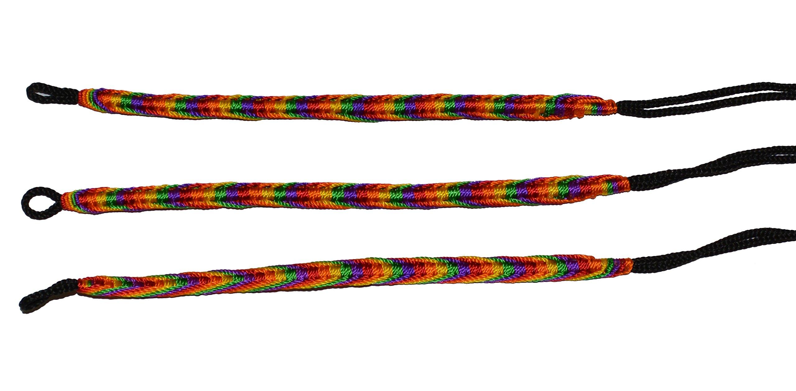 Rainbow Friendship Bracelets LOT 100 MIX From Peru Wholesale GAY Lesbian Pride by Handmade In Peru (Image #3)