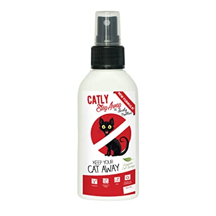 Repelente para Gatos CATLY | Aerosol para Gatos 100% Natural | Mantenga a los Gatos