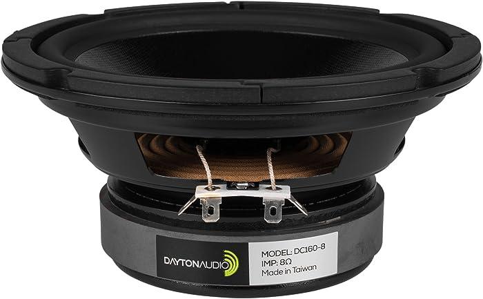 "Dayton Audio DC160-8 6-1/2"" Classic Woofer"