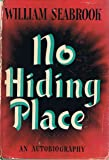 No Hiding Place An Autobiography