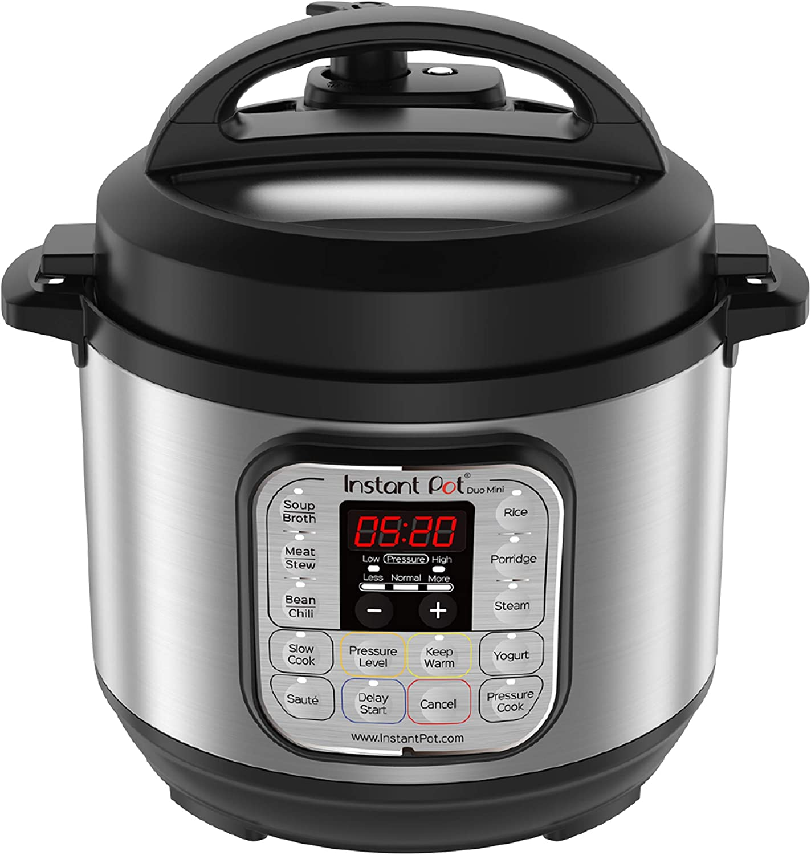 Instant Pot IPDuo-30 Duo Mini, Acero Inoxidable, 800 W, 3 litros