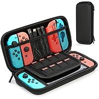 HEYSTOP Case voor Nintendo Switch, beschermende harde draagbare reisdraagtas Shell Pouch voor Nintendo Switch Console…