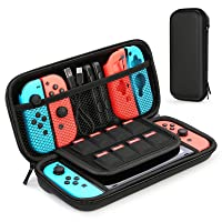 HEYSTOP Case for Nintendo Switch Protective Hard Portable Travel Carry Case Shell Pouch for Nintendo Switch Console and Accessories