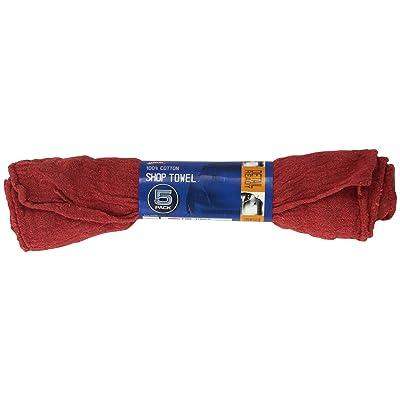Carrand 40046 Shop Towel, Pack of 5: Automotive