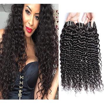 7c1db3ff9 Brazilian Curly Hair Deep Wave Bundles Unprocessed Brazilian Virgin Human Hair  Weave 10 inch Curly Hair