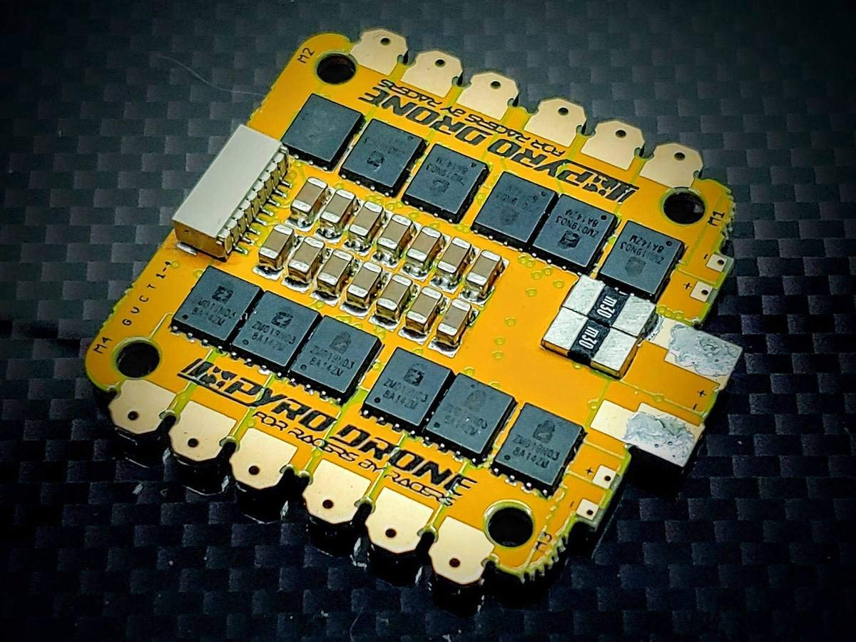 PYRO32F3-45Amp 4in1 F3 32bit BLHELI ESC 4x45A B07PQX64T7