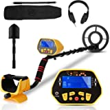 Sailnovo Professional Metal Detector for Adults & Kids, High Accuracy Adjustable Waterproof Metal Detector with LCD…